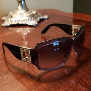 Bvlgari navy blue sunglasses